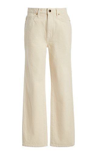 Abigail High-Rise Cropped Jeans