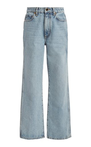 Abigail Rigid High-Rise Cropped Jeans