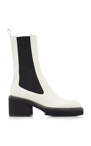 Calgary Leather Ankle Boots