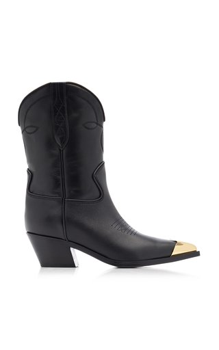 Fontana Leather Ankle Boots