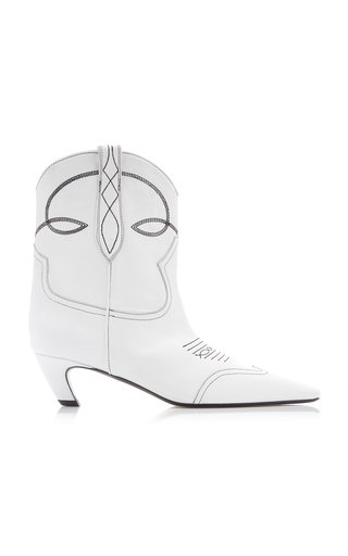 Dallas Leather Ankle Boots
