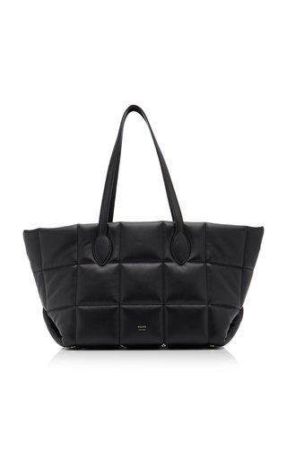 Florence Quilted Leather Tote