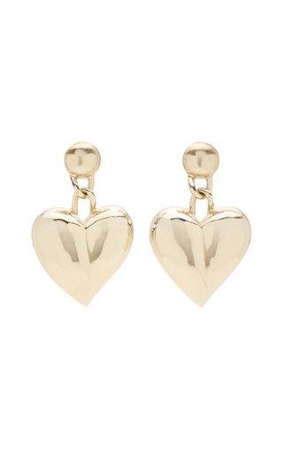 Heart Chain Drop Earrings