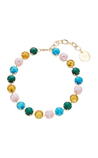 Multi Strauss Crystal Necklace