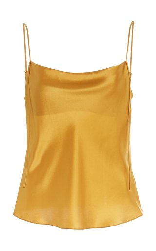 Draped Silk Camisole
