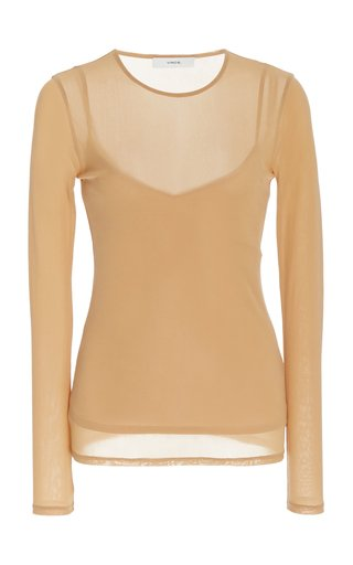 Double Layered Jersey Top
