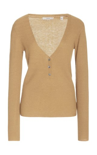 Cashmere Henley Top