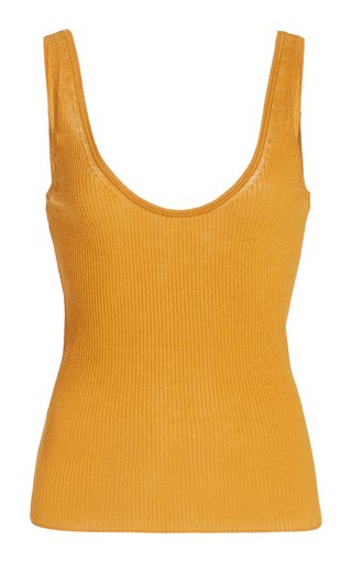Marled Cotton Tank Top
