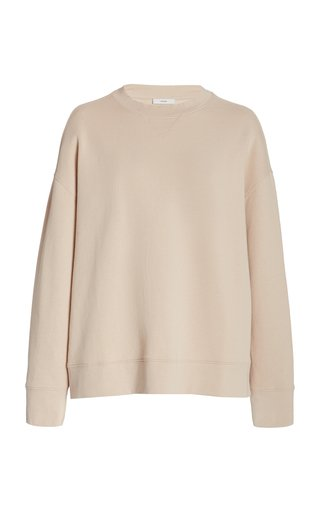 Relaxed Fit Cotton Pullover