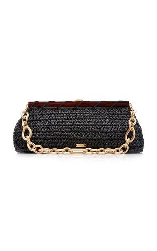 Mila Raffia Shoulder Bag