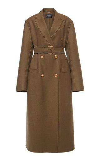 Longline Virgin Wool Coat