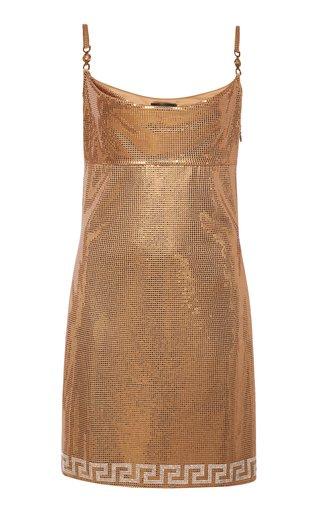 Metallic Lamè Slip Dress