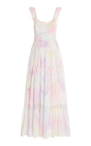 Corbella Silk-Broderie Dress