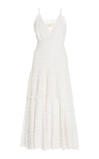 Dua Cotton-Broderie Dress