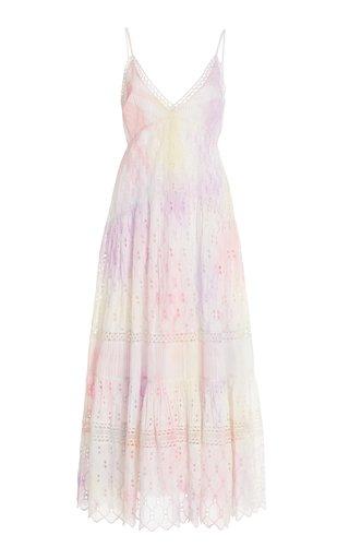 Weston Pin-Tucked Silk Dress