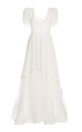 Alistair Silk-Lace Dress