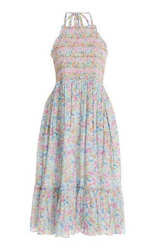 Ottawa Smocked Cotton Dress