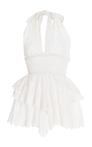 Deanna Shell Halter Dress