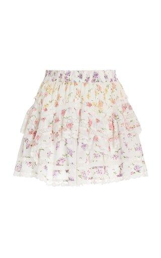 Abrielle Cotton Skirt