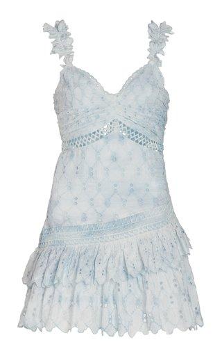Desra Silk-Broderie Dress