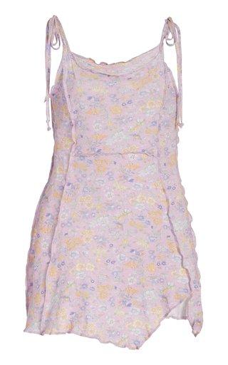 Fletcher Cotton-Blend Mini Dress