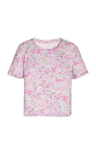 Calix Floral Cotton T-Shirt