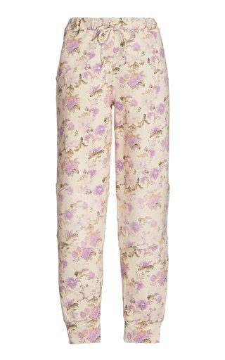 Etty Floral Cotton Leggings