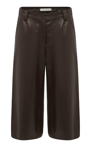 Charli Tuck Leather Culottes