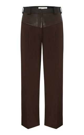 Maverick Cropped Wool Pants