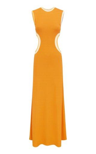 Fran Verner Knit Maxi Dress