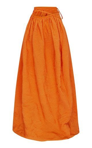 Wrapped Cocoon Skirt