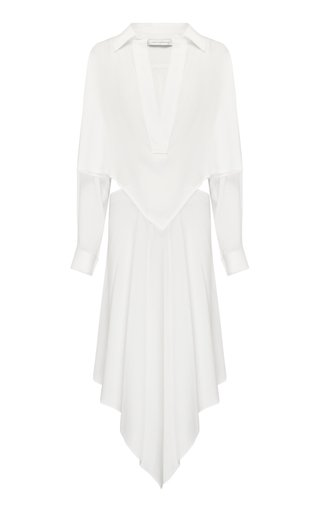 Bandana Scarf Shirt Dress