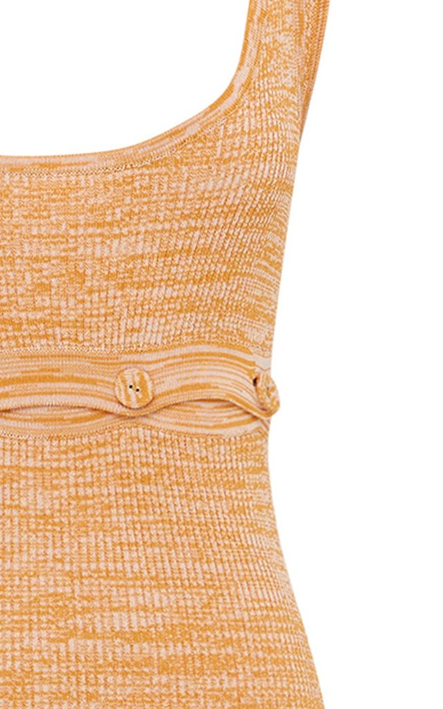 Deconstructed Knit Tank Dress