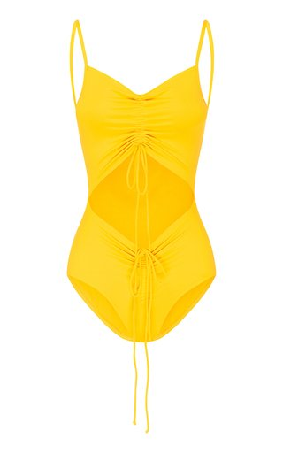 Ruched Disconnect Swimsuit