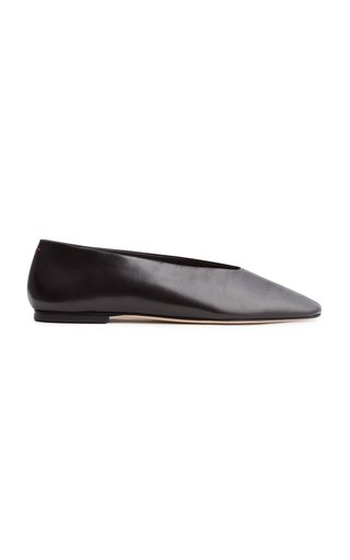Kirsten Leather Flats