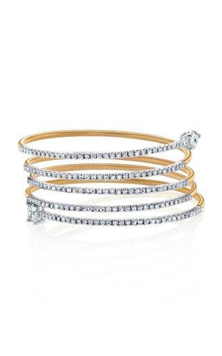 18K Rose Gold Serpentine Slinky Bracelet