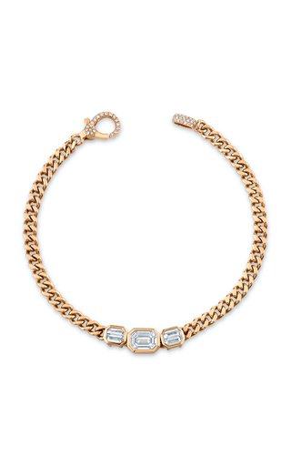 18K Rose Gold Baby Link Bracelet