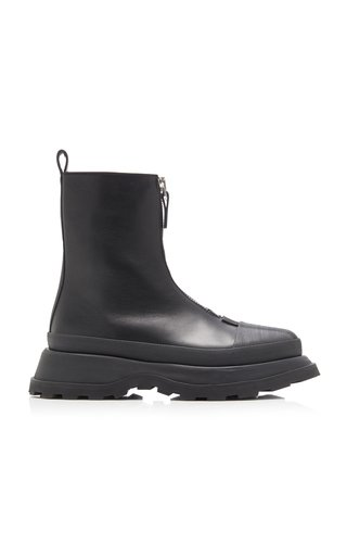 Boston Leather Ankle Boots
