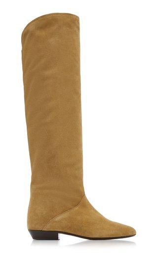 Seelys Suede Knee Boots