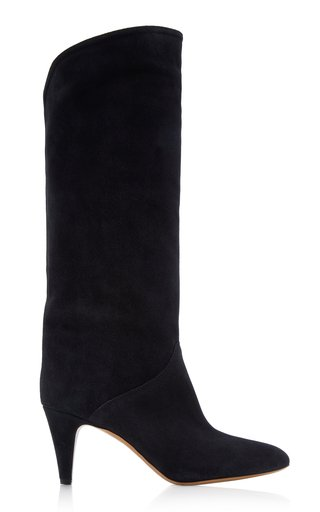 Laylis Suede Knee Boots