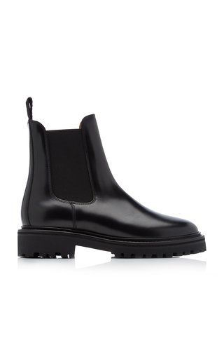 Castayh Leather Ankle Boots
