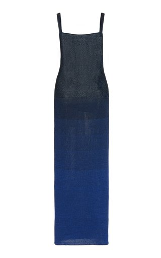Ombre Knit Midi Dress