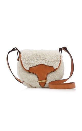 Botsy Shearling Crossbody Bag