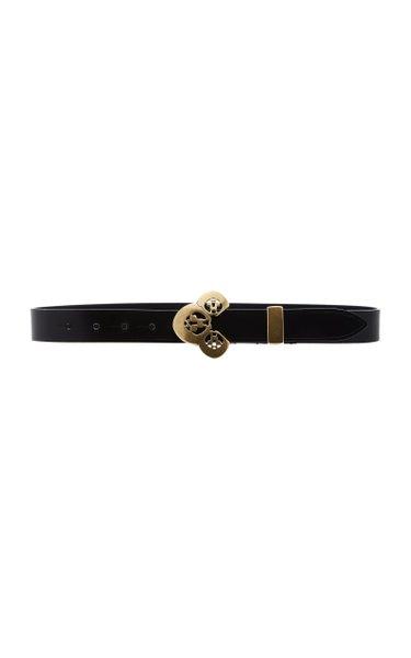 Louama Buckled Leather Belt
