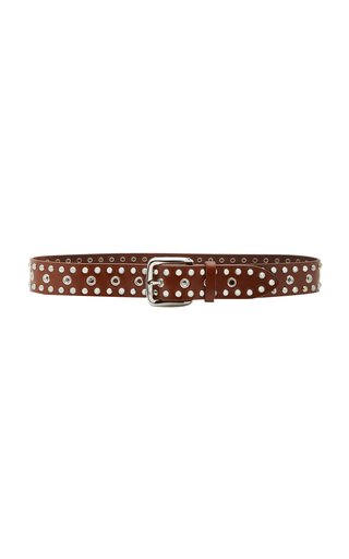 Rica Studded Leather Belt