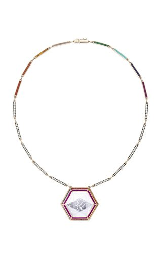 One Of A Kind Sahasrara Crystal Pendant