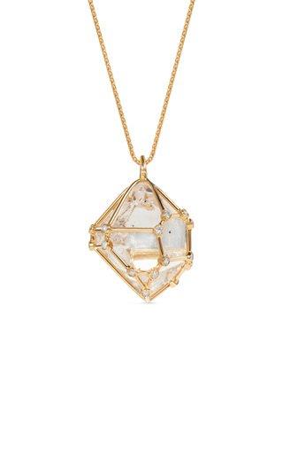 Small Herkimer Diamond Pendant