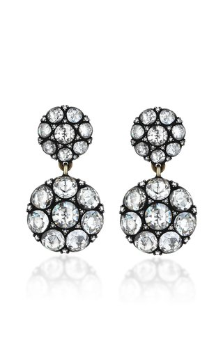 Palace Heritage 18K Yellow Gold and Diamond Drop Earrings
