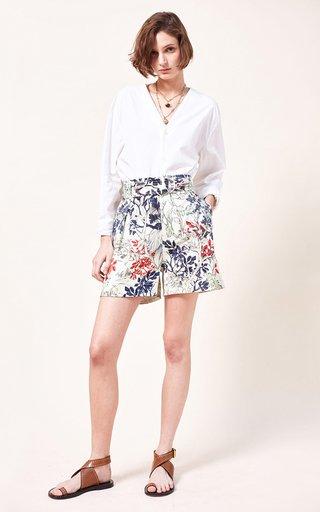 Omor Printed Organic Cotton Shorts