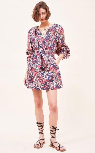 Gabi Organic Cotton Poplin Mini Dress
